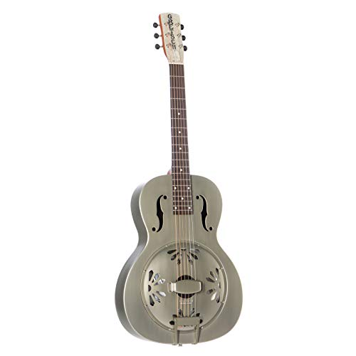 Gretsch G9201 Honey Dipper Round-neck Metal Resonator - Brass Body, Padauk Fingerboard
