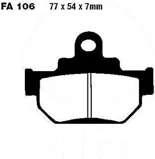 Bremsbelag vorne EBC Semi Sinter V für Suzuki LS 650 F Savage Flachlenker, J, NP41B, Bj. 1988