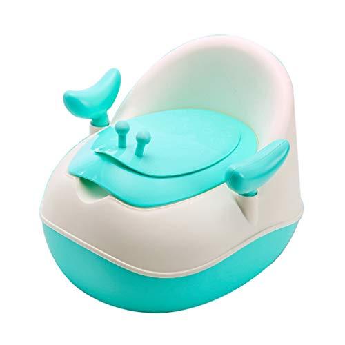 Apprentissage de la propreté Toilettes pour Enfants Hommes et Femmes Bébé Enfants Bébé Bébé Urinoir 1-6 Ans 3 Toilettes 6 piliers (Couleur : Green)