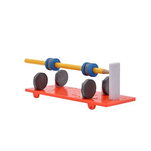YeahiBaby DIY magnetischer schwebender Sich hin- und herbewegender Stift Desktop-physikalische Wissenschafts-pädagogische Spielzeug-Ausrüstung