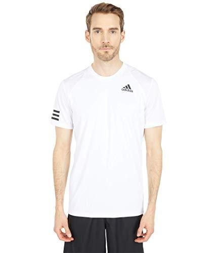 adidas Club 3-Stripes Tee White/Black XL