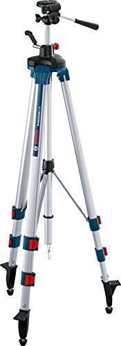 Bosch Professional Baustativ für Laser und Nivelliergeräte BT 250 (Höhe: 97,5–250 cm, Gewinde: 1/4 Zoll)