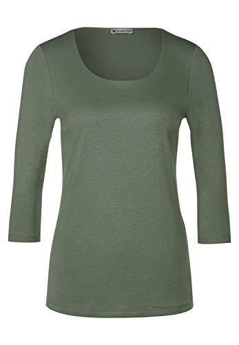 Street One Damen A313977 T-Shirt, Rich Celadon, 38