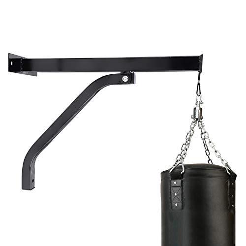 Cocoarm Boxsack Halterung Wandhalterung Wandhalter für Boxsack Boxsackhalterung Boxen Sandsack Aufhängungen Wand Aufhängen Ständer inkl. Befestigungsschrauben aus robustem Stahlrohr 100 Kg Tragkraft