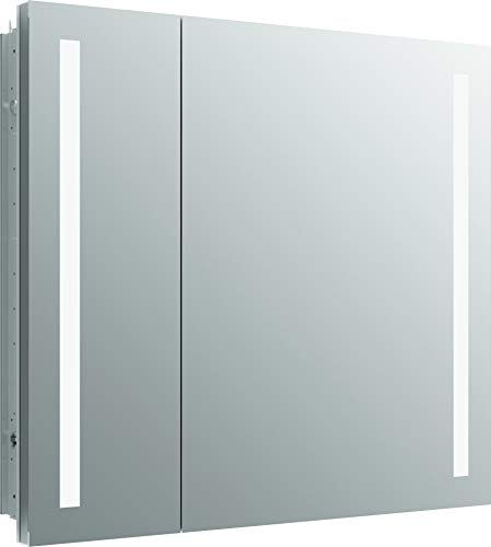 Kohler 99009-TLC-NA Verdera Lighted Medicine Cabinet, Aluminum