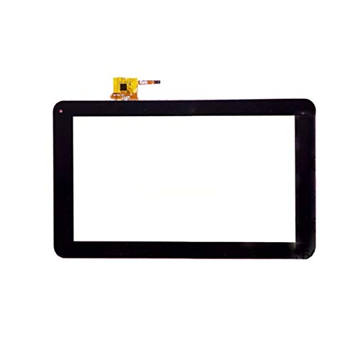 Monitor de Pantalla Plana Pantalla táctil de 9 '' Pulgada for el Panel táctil Wolder Tablet PC Panel táctil digitalizador/Ajuste for QSD E-C9011-01 (Color : Black)