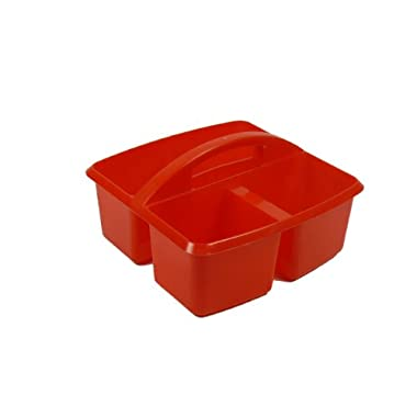 Romanoff Small Utility Caddy, Red