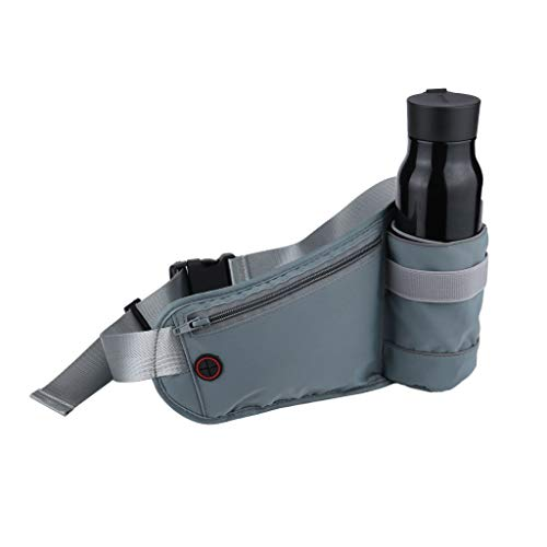 Cegduyi Hey Caterpillar Riñonera para senderismo al aire libre con soporte para botella de agua