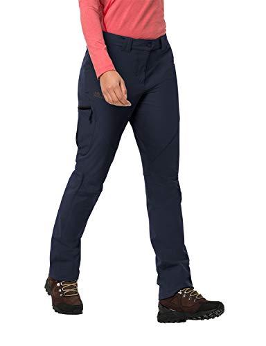 Jack Wolfskin Damen Chilly Track XT Pants Women Softshell-Hose, Midnight Blue, 38