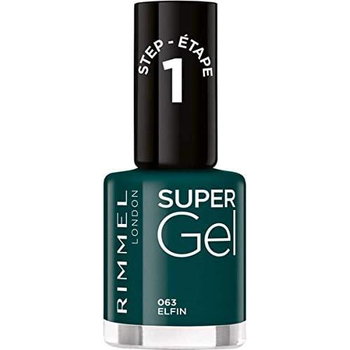 Rimmel Super Gel Nail Polish, Shade 063 1 Unit 30 g