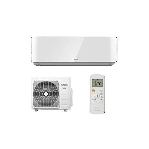 Climatiseur WI-FI UNICAL AIR CRISTAL 13000 BTU- 35Kw kit 3 metres, convient pour une surface de 30-40 m2.Classe energetique A++.