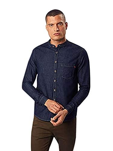 LTB Jeans Marlow Camisa Vaquera, Azul (Waterless Wash 2324), Medium para Hombre