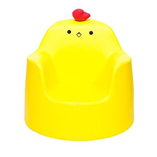 Poids Léger Fauteuil en Mousse, Garçon Fille Canapé De Meubles, Jardin d'enfants Mini Bébé Jouet 4 Couleurs Sofa (Color : Yellow)