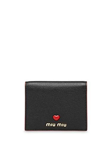 Miu Miu Luxury Fashion Damen 5MV2042BC3F0002 Schwarz Brieftaschen |