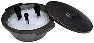 Argos Technologies PolarSafe Ice Bucket with Lid, 2.5 L, Polystyrene, Black; Each