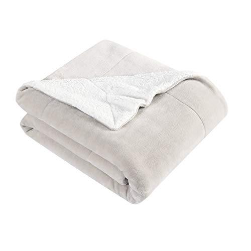 Eddie Bauer Ultra-Plush Collection Throw Blanket - Reversible Sherpa...