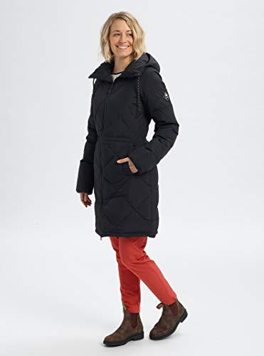 Burton Womens Chescott Down Jacket, True Black, Small