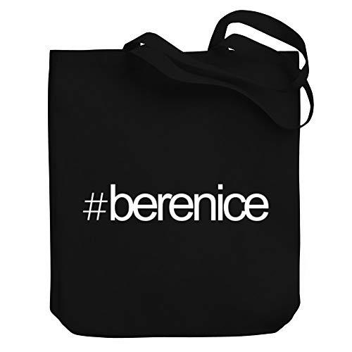 Teeburon Hashtag Berenice Bold Text Bolsa de Lona 10.5' x 16' x 4'