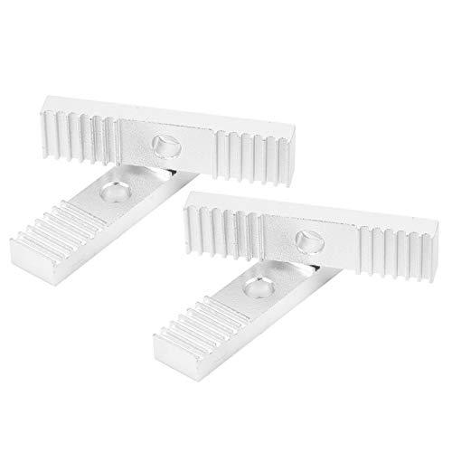 Diente de alta calidad de la fijación de la correa dentada, aluminio de la disipación del calor hecho 9 x 40m m aleación de aluminio