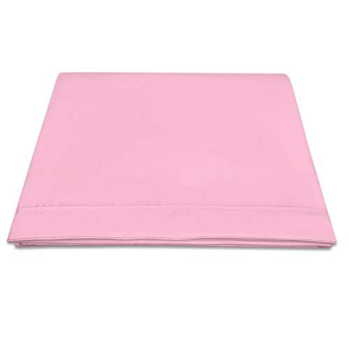 400 conteo de Hilos algodón Puro Sábana Encimera 230x270 Rosa Lila para...