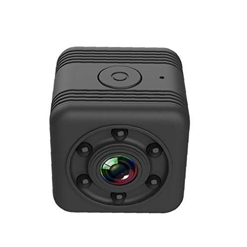 xiaocheng Mini cámara inalámbrica WiFi Inteligente cámara HD cámara portátil SQ29 visión Nocturna de detección de Movimiento para la Cubierta Negro al Aire Libre usada en la Vida Diaria