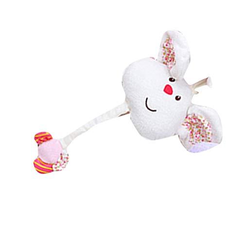 Baby baby knuffel wieg bed wandelwagen opknoping bell speelgoed zachte baby rammelaar vroege educatieve pop knuffels