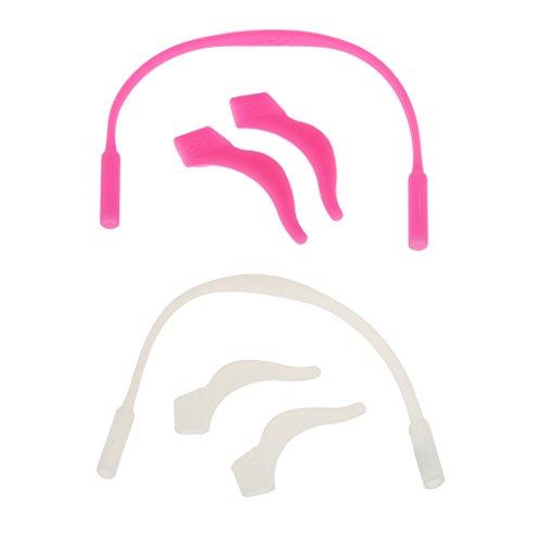 F Fityle Paquete de 2 Soportes para Gafas de Sol para Niños, Correa de Cadena, Gafas de Seguridad, Cordón para Anteojos