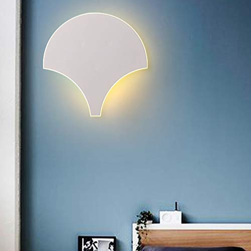 Applique murale LED lampe de chevet lampe murale chaude lumière blanche chambre salon lampe moderne feuille d'érable bras de lumière cuisine salle d'enfants éclairage lampe couloir plafonnier 29*30cm