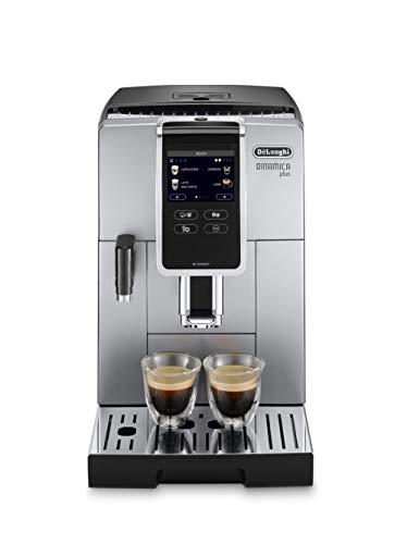 De'Longhi ECAM 370.85.SB Cafetera automática dinámica 1450 W, 1,8 litros, plástico, plateado y negro