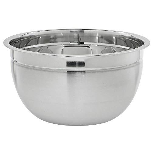 Stainless Steel Mixing Bowl 8 Quart 22 Gauge – 12″Dia x 6 1/10″D HUBERT