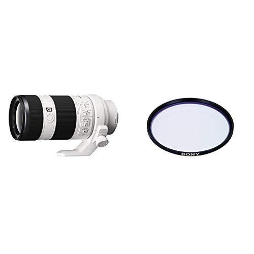 Sony SEL-70200G G Tele-Zoom Objektiv (70-200 mm, F4, OSS, Vollformat) schwarz + Sony VF-72MPAM Carl Zeiss T MC-Schutzfilter