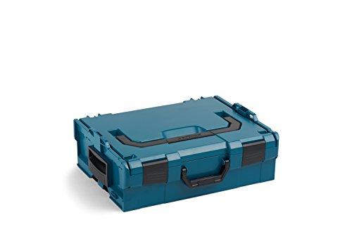 L-Boxx 136 von Bosch Sortimo | Größe 2 | Werkzeugkoffer erweiterbar | Professioneller Werkzeugkasten leer Kunststoff | Ideale Aufbewahrungsbox Werkzeug