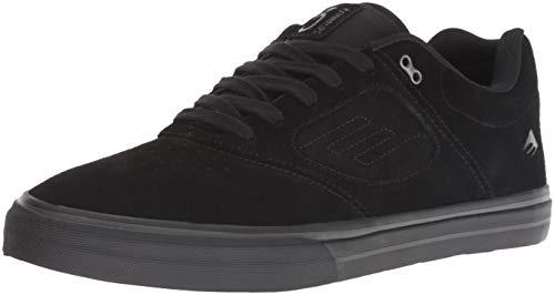 Emerica Men's Reynolds 3 G6 Vulc Skate Shoe, Black/Black, 6 Medium US