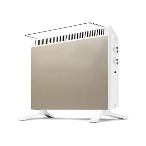 Find Discount ZJ Electric Fireplaces Convection Heater, 3 Power Settings Energy Saving Constant Temp...
