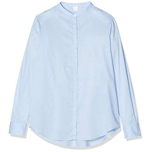 BOSS Efelize_17 Camicia, Blu (Light/Pastel Blue 450), 46 (Taglia Unica: 40) Donna