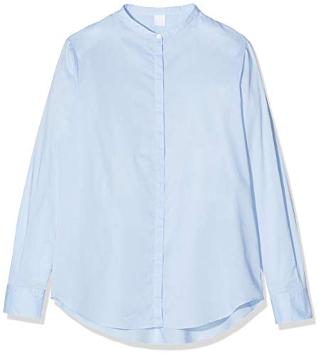 BOSS Damen Efelize_17 Bluse, Blau (Light/Pastel Blue 450), 38 EU