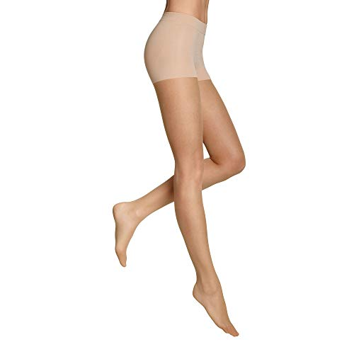 ITEM m6 - CONTOURING TIGHTS Damen | powder | M | L1 | Strumpfhose im 15 DEN Look