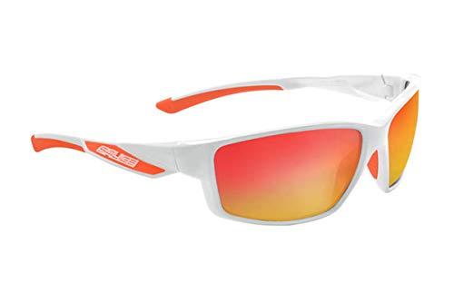 Salice 014IR - Gafas de Ciclismo, Color Blanco/Rojo, Talla única