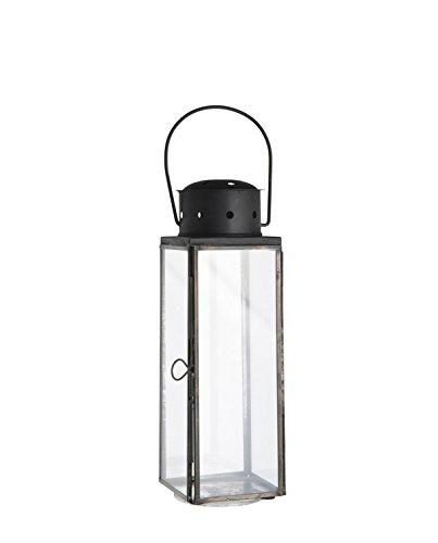 IB Laursen - Laterne Blåvand - Metall - Glas - Höhe 26 cm