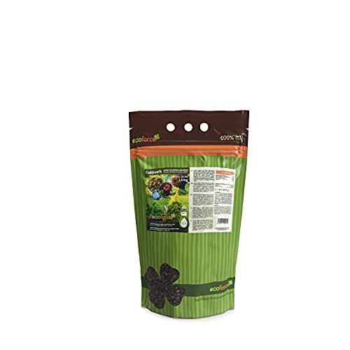 CULTIVERS Abono Ecológico Universal de 1,5 kg. Fertilizante granulado con NPK 8-1-5+74%...
