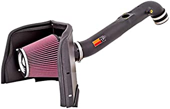 K&N Cold Air Intake Kit: High Performance, Guaranteed to Increase Horsepower: 2005-2019 Toyota Tacoma, 2.7L L4,63-9026