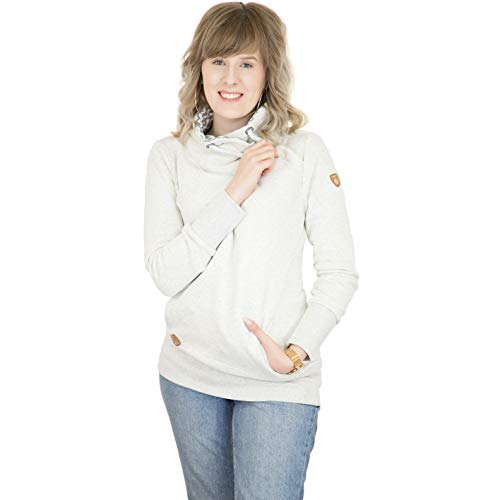 Ragwear Sweater Damen NESKA 1821-30074 Weiß White 7000, Größe:L