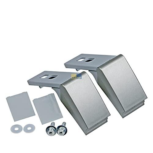 Türgriffreparatursatz Türgriff silber KühlschrankGefrierschrank Liebherr 9590180