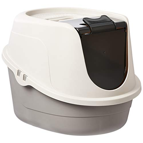 AmazonBasics Hooded Cat Litter Box, Standard