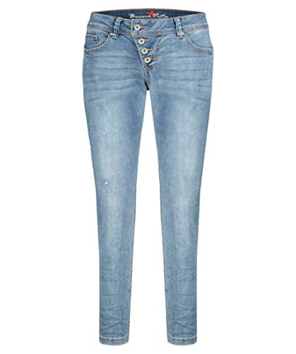 Buena Vista Jeans Malibu 7/8 Stretch Denim in Blau, Größe S