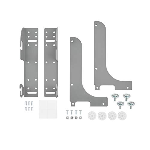 Rev-A-Shelf 5WB-DMKIT Door Mount Kit for Kitchen Cabinet Pull Out Wire Baskets, Cookware Organizers, or Wast Containers