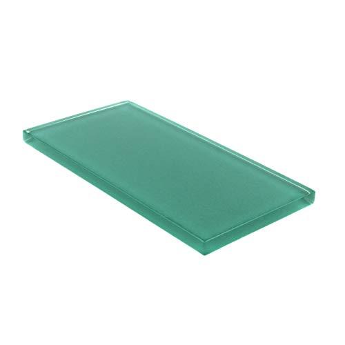 Glas Subway Tile von giorbello, grün