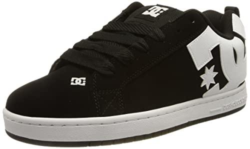 DC Shoes Court Graffik - Zapatillas para hombre, Negro (Black), 47