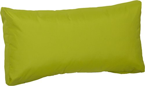 Beo Beo LRP 70x40PY203 Lounge Rückenkissen mit Reissverschluss und wasserabweisendem Stoff, hellgrün, 70 x 40 cm