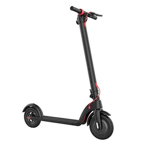 WM Scooter Eléctrico para Adultos Pedal Eléctrico Plegable Bicicleta 2 Marchas Velocidad...